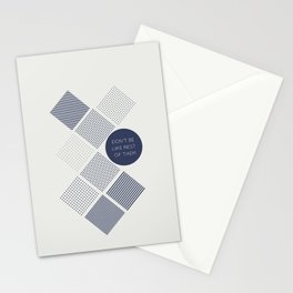 Don't be like rest of them Stationery Cards