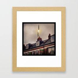 Chimney Top Missiles -  Framed Art Print