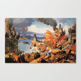Ultima Online poster Canvas Print