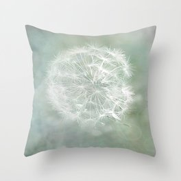 Seed Head with Texture Throw Pillow