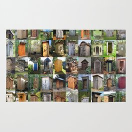 Outhouses Rug
