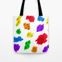 Uninvited Guests - Black Outline Tote Bag
