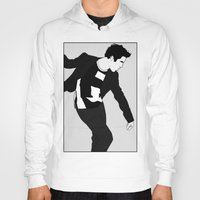 darren criss Hoodies featuring Darren Criss Dancing! by byebyesally