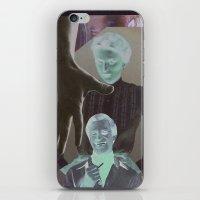 postcard iPhone & iPod Skins featuring Postcard #33 by Jon Duci