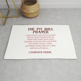 The Pit Bull Prayer Rug