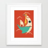 voyage Framed Art Prints featuring Voyage by Jay Fleck