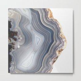Dreamy Agate Metal Print