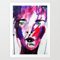 Silent Woman Art Print
