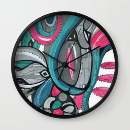 Fertile Ground Wall Clock