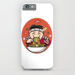Funny Ramen Holic iPhone Case