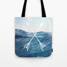 Deep sea arrows Tote Bag