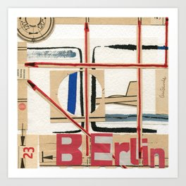 Short Stories from the City - Berlin Andante Art Print