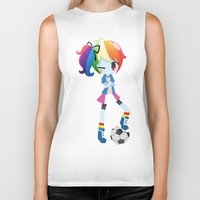 mlp Biker Tanks featuring MLP - Rainbow Dash by Choco-Minto