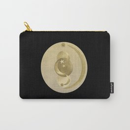 Black Gold Moon and Stars #1 #decor #art #society6 Carry-All Pouch