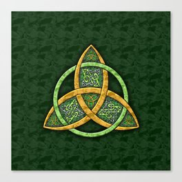 Celtic Trinity Knot Canvas Print