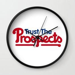 Trust the Prospects Wall Clock