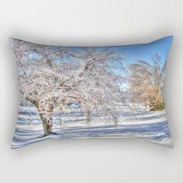 After Ice Storm Rectangular Pillow