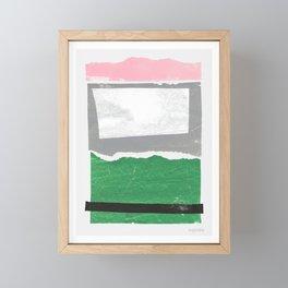 Avalon I Framed Mini Art Print