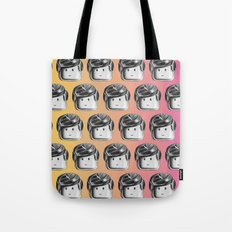 Minifigure Pattern - Hot Tote Bag