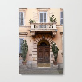 Cactus & Coral in Italy / travel photography Metal Print