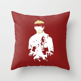 Don't Use The 'Z' Word Throw Pillow