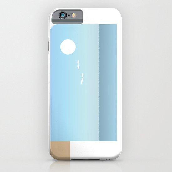 Choppy Waves iPhone & iPod Case