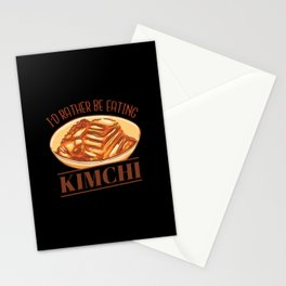 I'd rather be eating Kimchi Stationery Cards