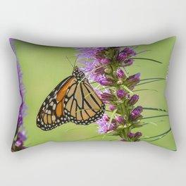 Summer Monarch Butterfly Rectangular Pillow