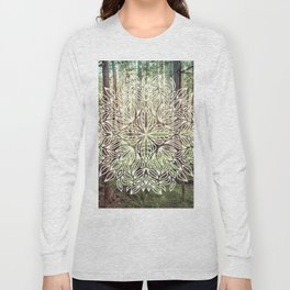 Mandala Vintage Forest Path Long Sleeve T-shirt