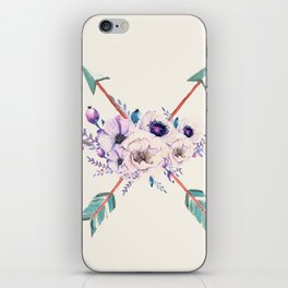 Floral Arrows iPhone Skin