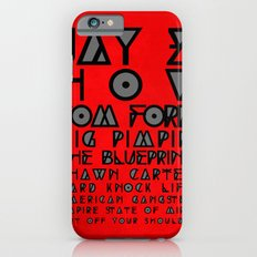 Eye Test - JAY Z Slim Case iPhone 6s
