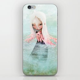 A Friend for the Journey iPhone Skin