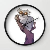 koala Wall Clocks featuring Koala by Suzanne Annaars