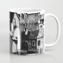 ARCHITECTURE PEN & INK DRAWING Coffee Mug