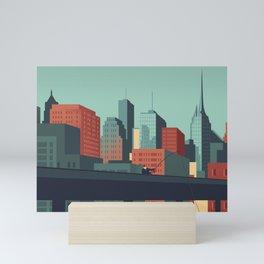 Urban Wildlife - Swordfish Mini Art Print