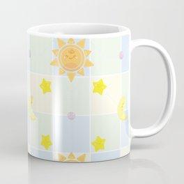 Cute Sun stars and Moon Coffee Mug