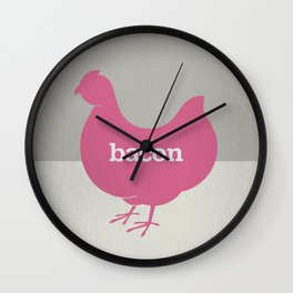 Bacon/Eggs Wall Clock