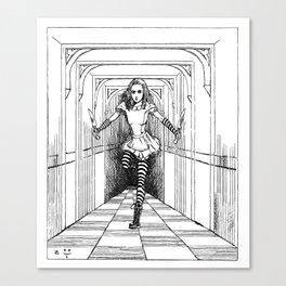Bloody Alice Canvas Print