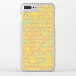 Pattern 001 Clear iPhone Case