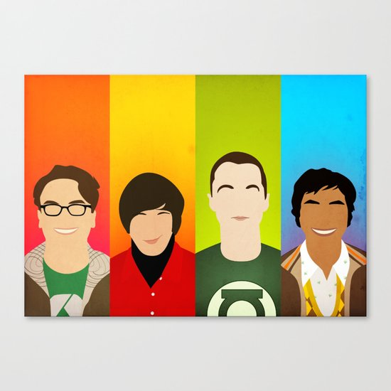 The Big Bang Theory Canvas Print