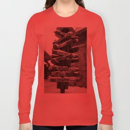 Which Way? Long Sleeve T-shirt