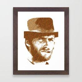 Scrabble Eastwood Framed Art Print