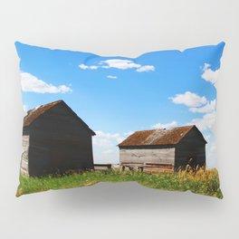 Barns on the Canadian Prairie Pillow Sham