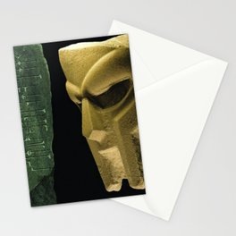 MF Doom - Hip Hop Legend - Born Like This - Rap Icon Stationery Cards