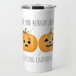 Lightheaded Jack-O-Lantern Travel Mug