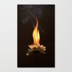 Soul burn Canvas Print