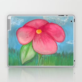 Big Pink Bloom Laptop & iPad Skin