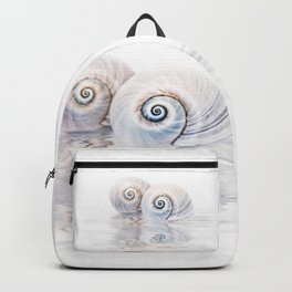 Snail Shells On Water Backpack