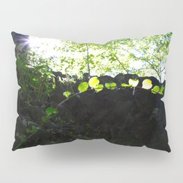 Sun through the trees in the woods Pillow Sham