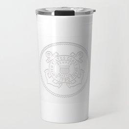 USCG Coast Guard Coastie design Gift Travel Mug